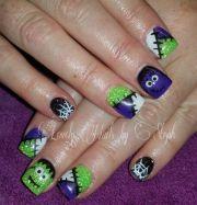 1000 halloween nail