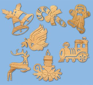Free Scroll Saw Christmas Ornament Patterns WoodWorking