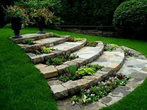 wonderful idea 4 uneven backyard