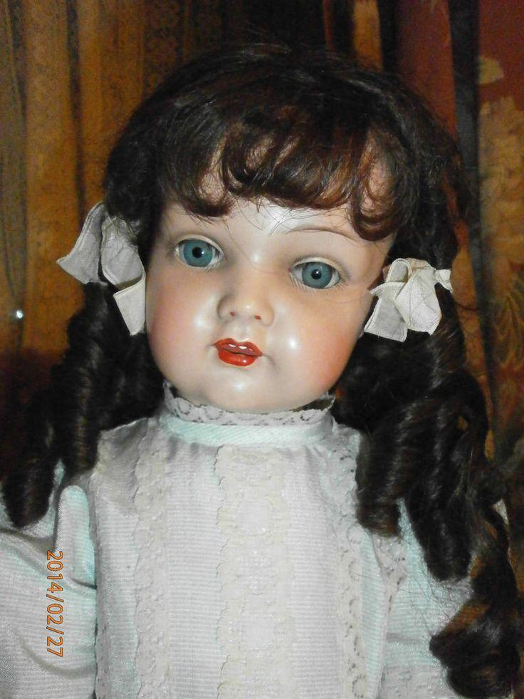 Antique Celluloid Doll Kaemmer ReinhardtSchildkroet 717