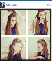 tutorials diy hair fox hairstyle