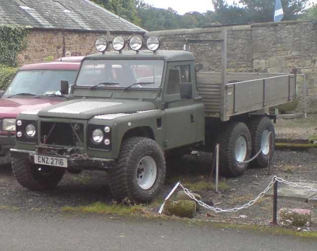 116 best Land Rover 6x6 images on Pinterest