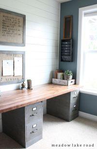 25+ best ideas about File Cabinet Desk on Pinterest ...