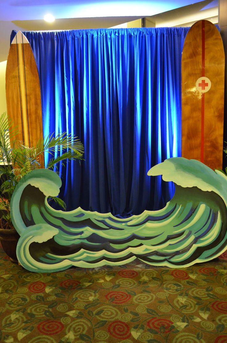 Surf Theme Photo OpOur attendees LOVED it  Its a