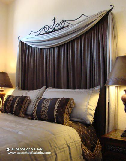 DIY Curtain Headboards – Easy Décor Styles | Decozilla