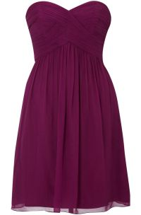 sangria bridesmaid dress. | With my whole heart for my ...