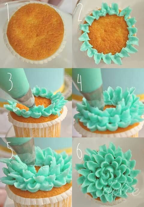 Easy and fun cupcake decorating idea  Food  Cakes Cupcakes and Pies  Oh My  Pinterest