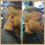freestyle haircut design. #eklasscertified