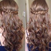 ideas sweet 16 hairstyles