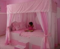 Princess Canopy Bed | Ashlyn's Room Ideas | Pinterest ...