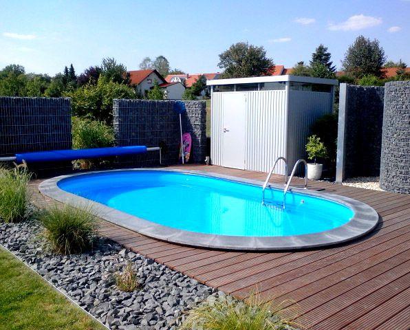 Der Eigene Pool Im Garten Sorgt Auch Zu Hause Fur Das Richtige Urlaubsflair Pool
