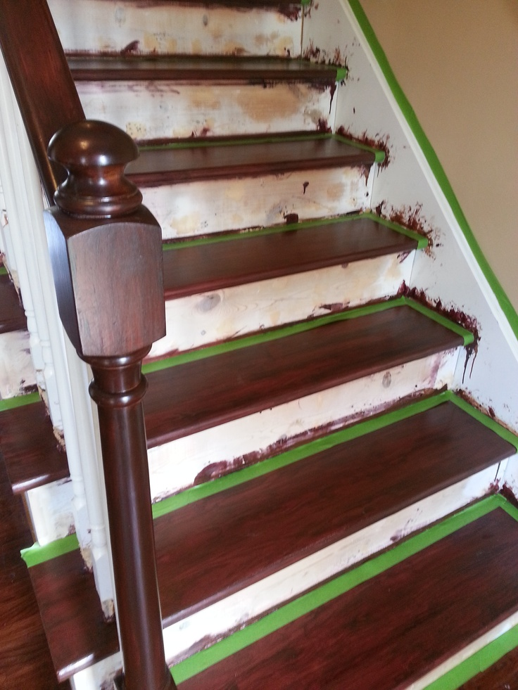 1000 Images About Stairs On Pinterest No Sanding Java