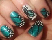 1000 ideas butterfly nail