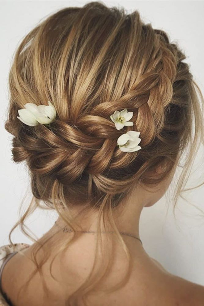 25 Best Ideas About Short Bridesmaid Hairstyles On Pinterest