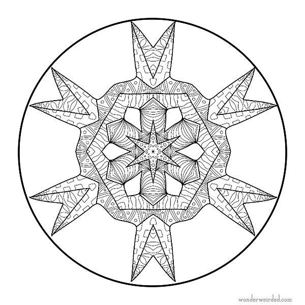 25+ Best Ideas about Mandala Zum Ausmalen on Pinterest