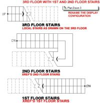 AutoCAD Stairs Floor Plan #stairs Pinned by www.modlar.com ...