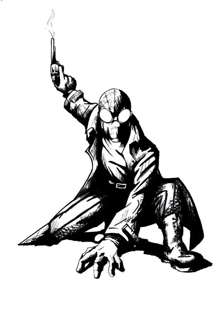58 best images about Spiderman Noir on Pinterest