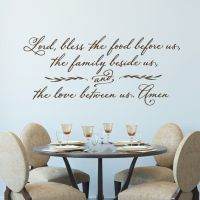 1000+ Dining Room Quotes on Pinterest | Dining room wall ...