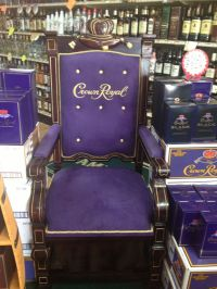 I love this chair!! It's purple and its crown royal lol
