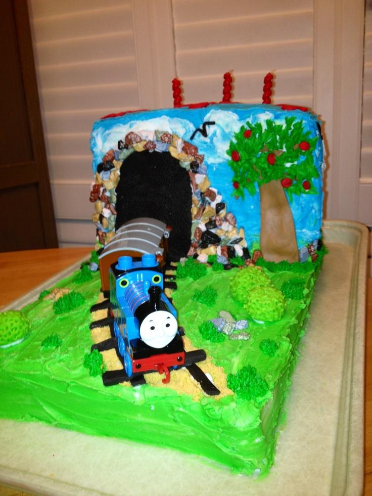 Thomas The Train Cake Our Cakes Pinterest Thomas The