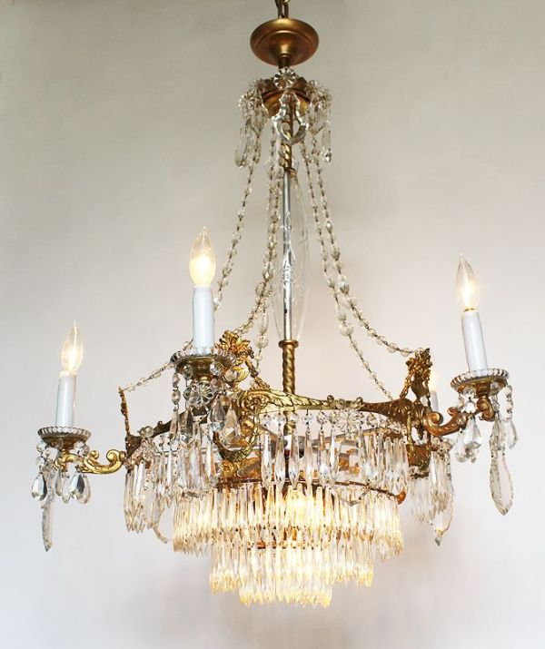 17 Best images about Victorian Crystal Chandelier on