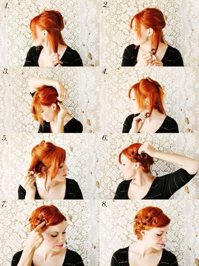 Die Besten 20 Rockabilly Frisuren Frauen Ideen Auf Pinterest