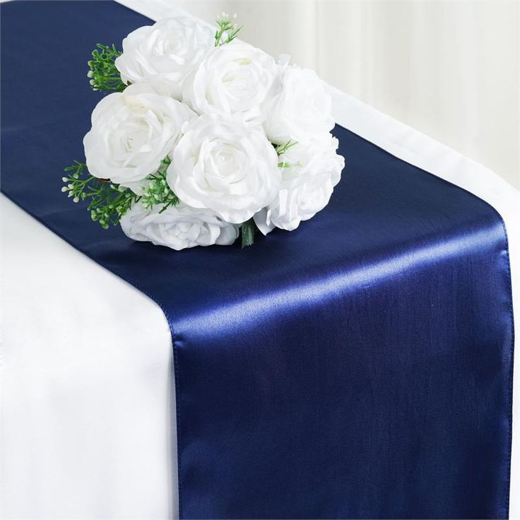 navy dining room chair covers round back armchair 1000+ ideas about blue table runner on pinterest | cloth wedding, wholesale ...