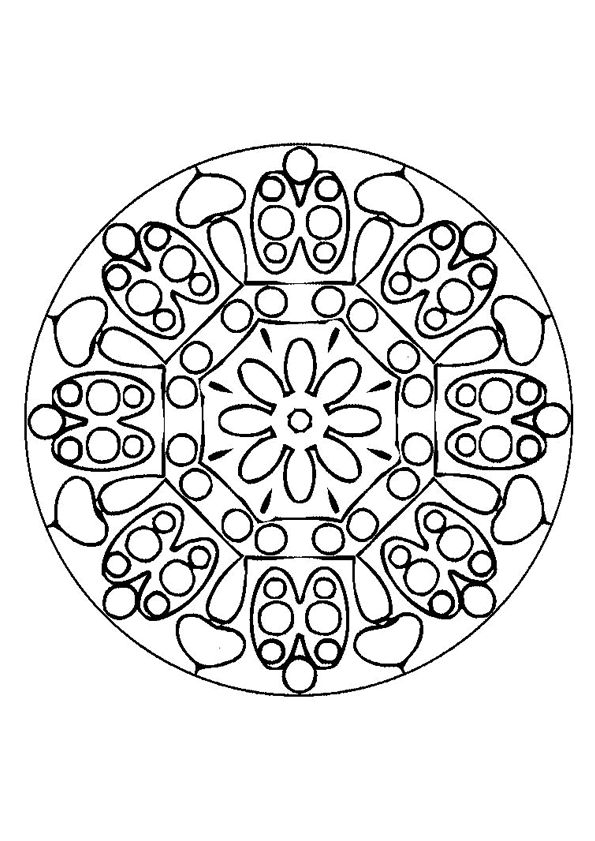 17 Best images about Coloriages Mandala on Pinterest