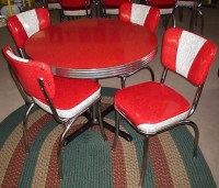 Retro Chrome Dinette Set