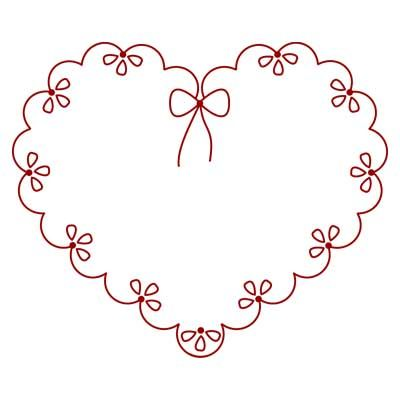 Free Hand Embroidery Pattern Valentine Hand Embroidery
