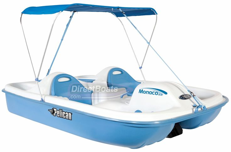 The Pelican Monaco DLX Pedal Boat Offers Room For 2 Adults