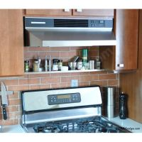 Stainless Steel Shelf Above The Range: 30in x 5in deep