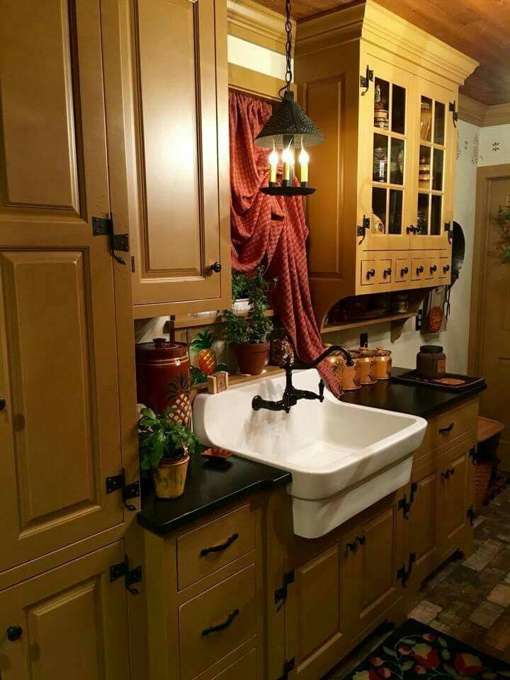 country kitchen wall decor kmart chairs 17 best ideas about primitive bathrooms on pinterest ...