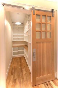 Amazing door treatment for walk in pantry. | Kitchen ideas ...