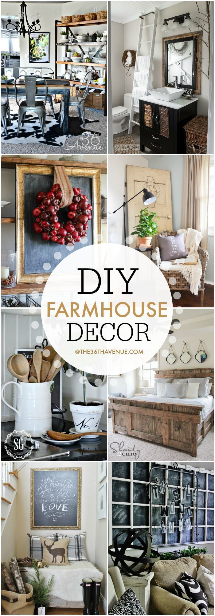 The 36th Avenue  Farmhouse Home Decor Ideas  Home Decor