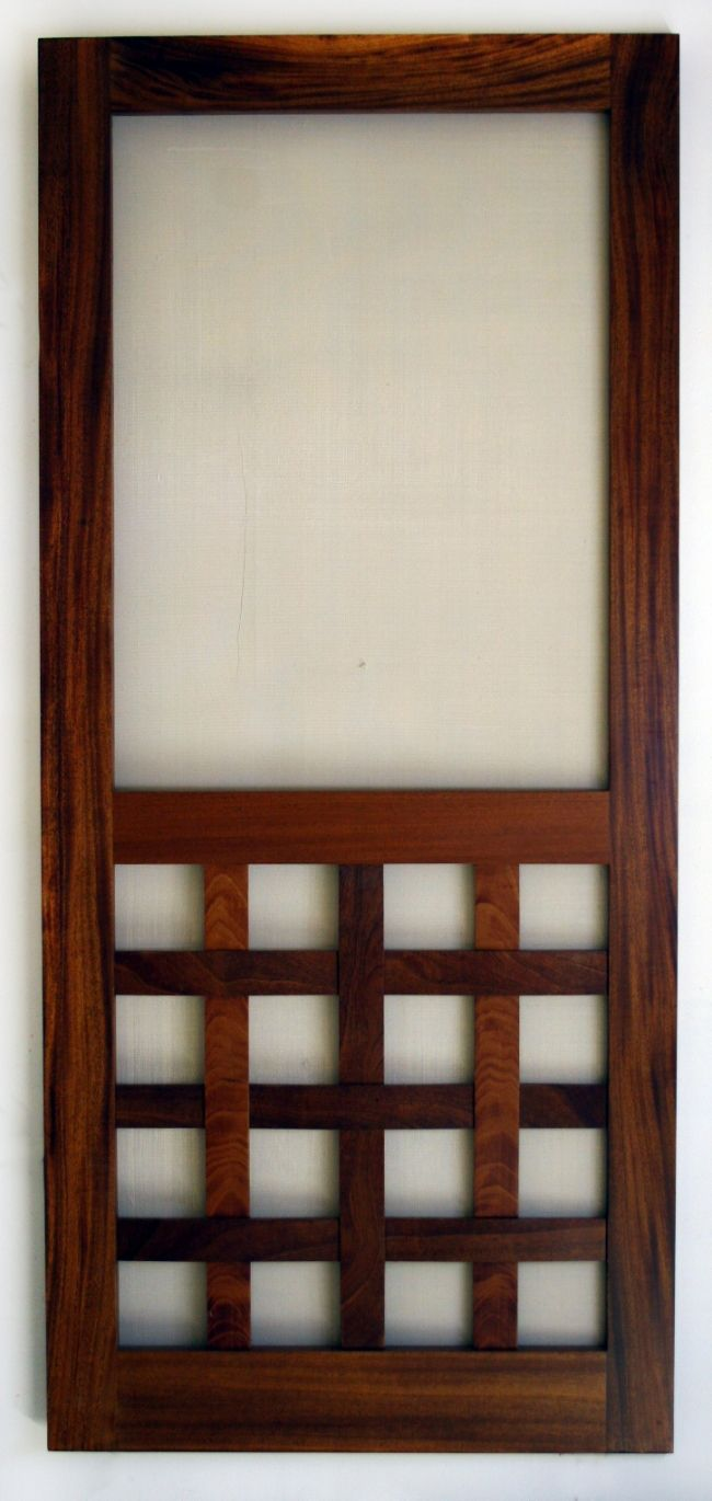 Wooden Screen Door Plans Free WoodWorking Projects Amp Plans