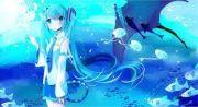 1000 anime underwater