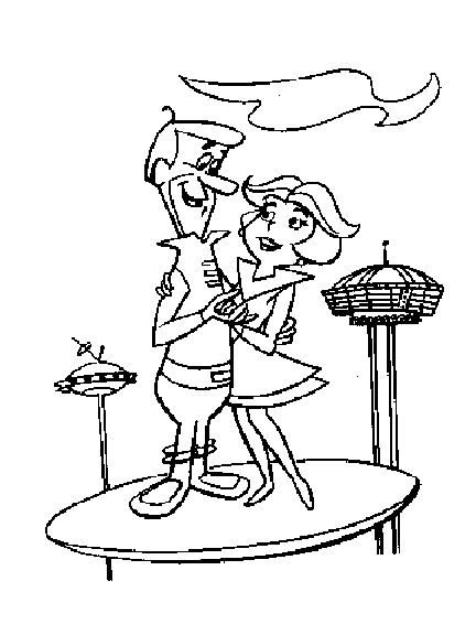 Jetson Elroy Coloring Page