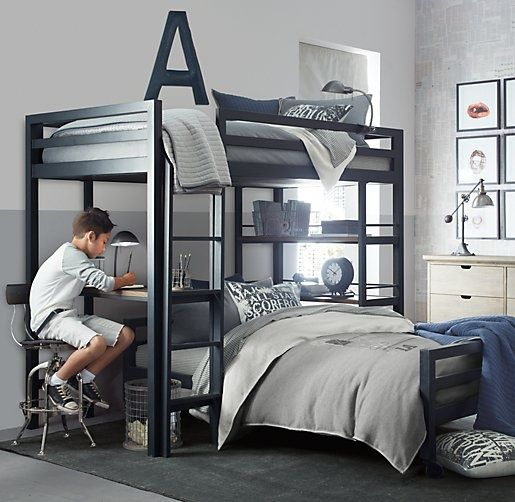 Boy Bedroom Restoration Hardware Varsity Option With