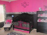 zebra baby room , pink and zebra baby room | Nursery ideas ...