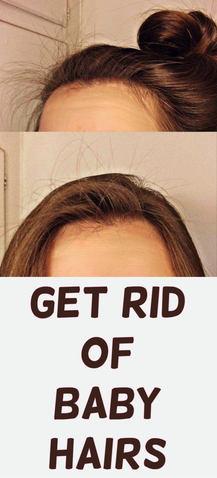 How to get rid of baby hairs babies