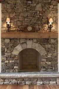 Best 25+ Corner stone fireplace ideas on Pinterest | Stone ...