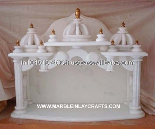 Marble Temple Home Decoration