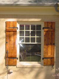 17+ best ideas about Cedar Shutters on Pinterest | Wood ...