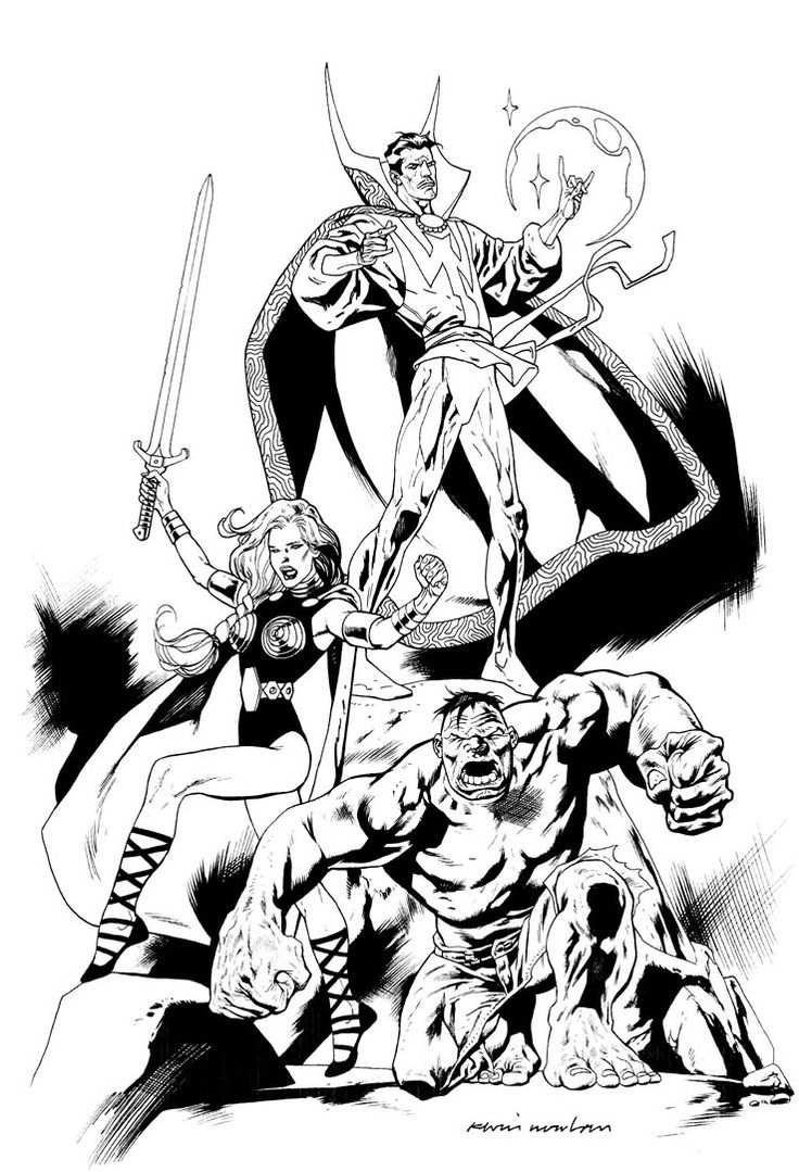 109 best images about *Artist: Kevin Nowlan on Pinterest