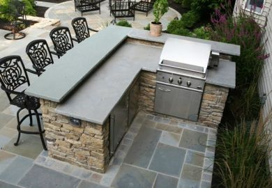 Outdoor Stone Bar Plans Free
