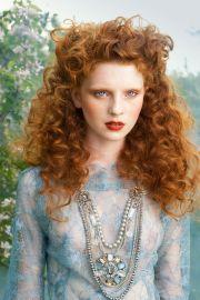 aneta kowalczyk #red #hair #curly