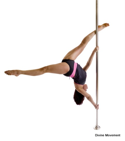 Pole Dancing - Extended butterfly | Pole positions for ...