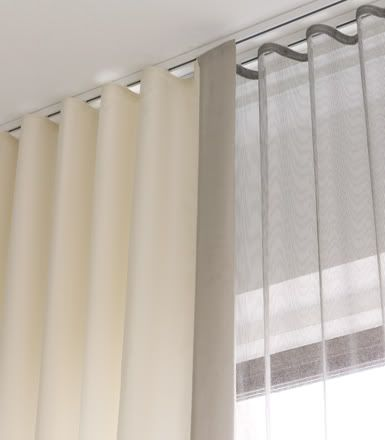 22 Best Images About Ceiling Mounted Curtain Rail On Pinterest
