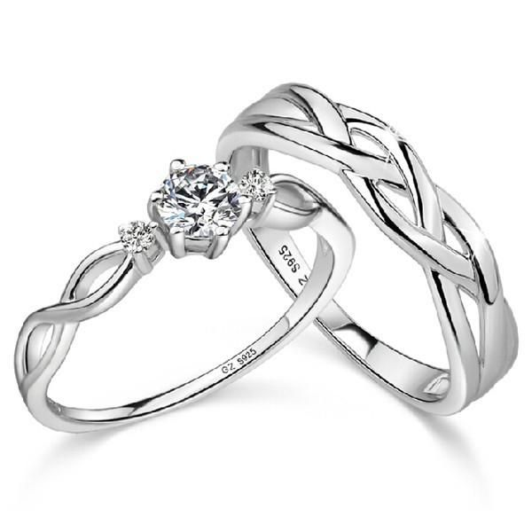 17+ best ideas about Couple Rings on Pinterest